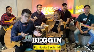 Beggin' (KERONCONG) - Novia Bachmid ft. Fivein #LetsJamWithJames