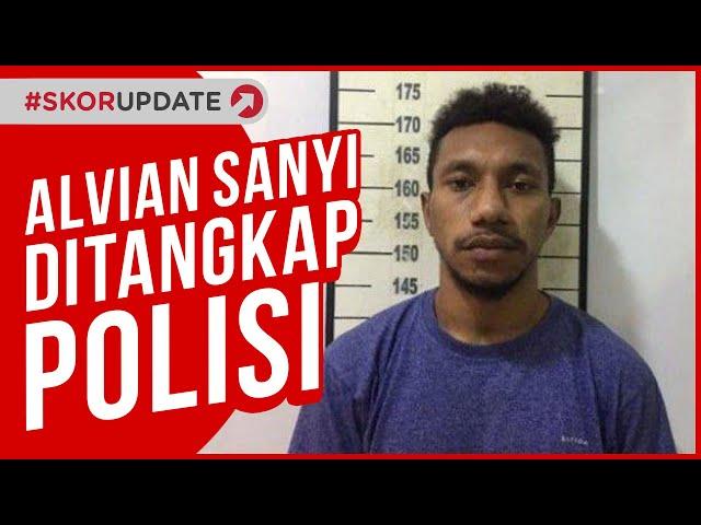 MANTAN TIMNAS U-19, ALVIAN SANYI DITANGKAP POLISI KARENA ANIAYA KEKASIHNYA
