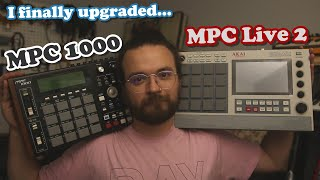 My 17 Year Leap Forward // Upgrading from MPC 1000 to Live 2