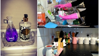Cleaning Motivation! My Evening Kitchen Cleaning Routine!
