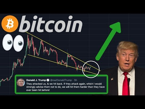 BITCOIN REVERSAL!!! | OMG!!! TRUMP THREATENING WITH WAR!!! CRAZY TWEETS!!