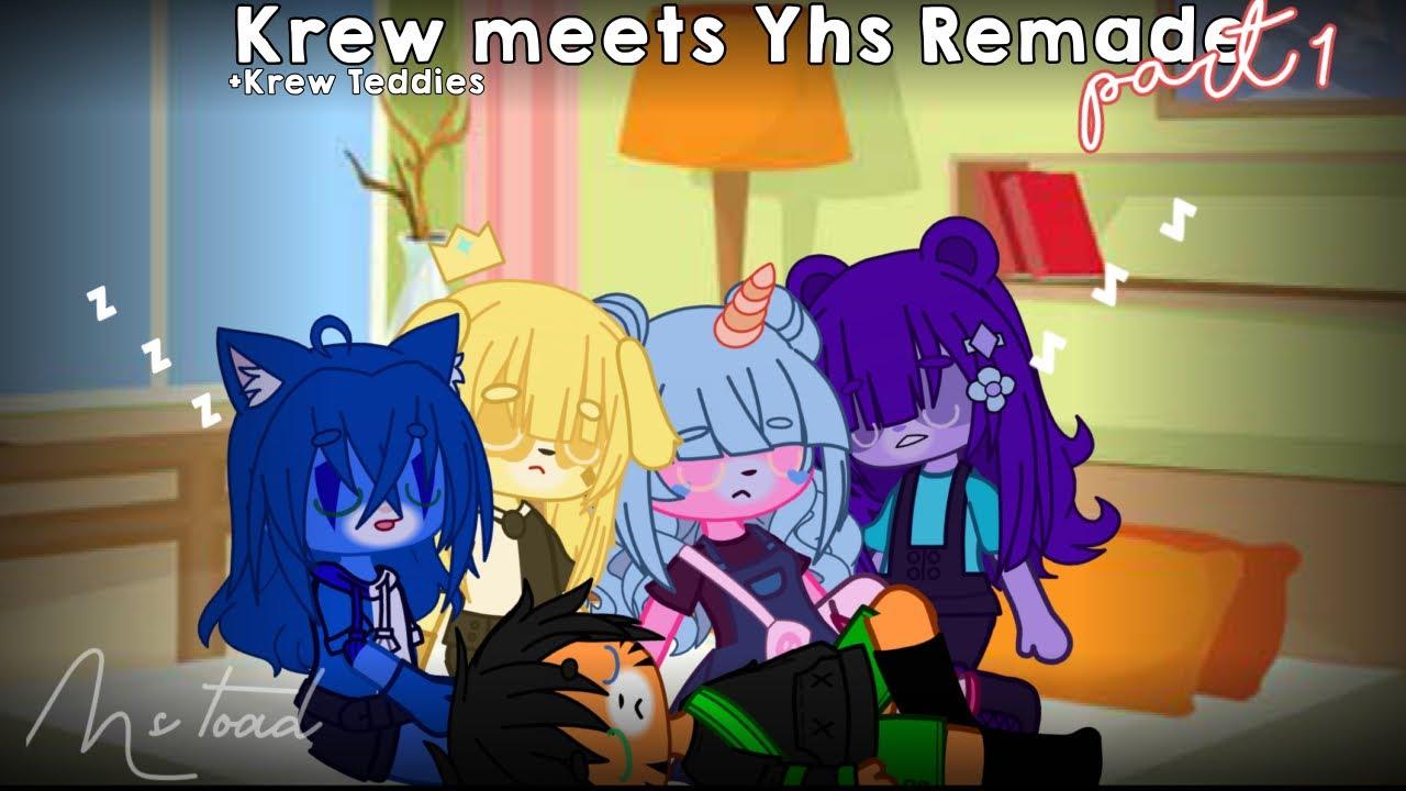 Krew Meets YHS Remake|| +Krew teddies || Ms.Toad