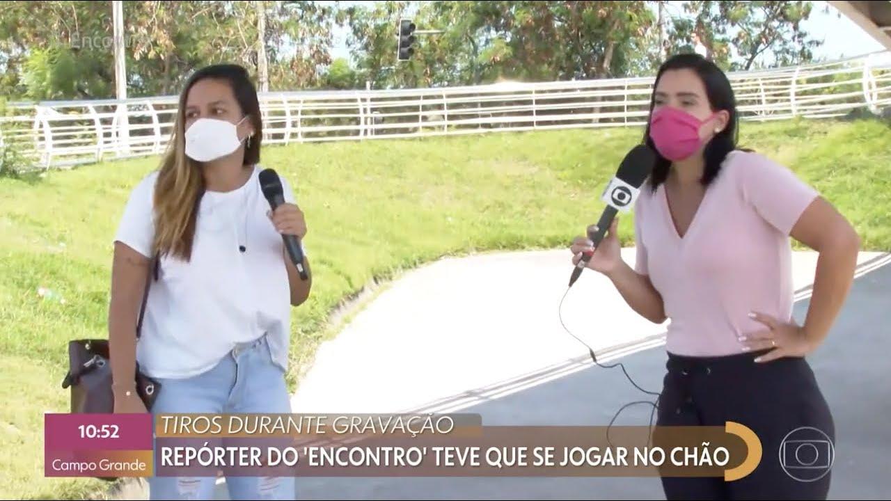 """Equipe do """"Encontro com Fátima"""" é surpreendida por tiroteio no Rio de Janeiro"""