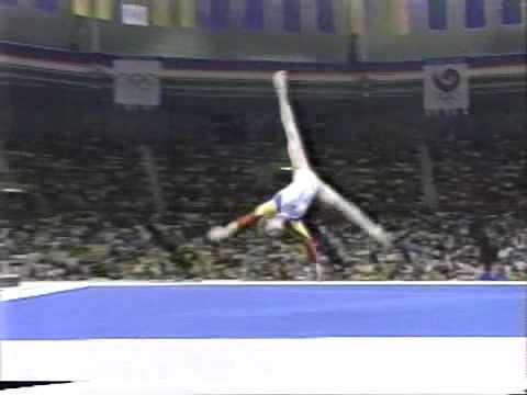 Daniela Silivas - 1988 Seoul Olympic - FX