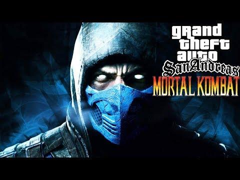 Сюжет Mortal Kombat в GTA: San Andreas ► Обзор GTA: Mortal Kombat