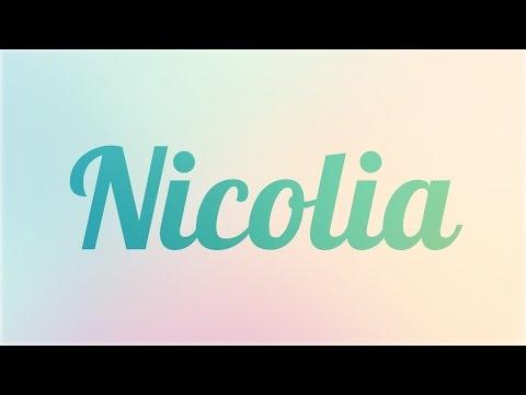 Significado de Nicolia,
