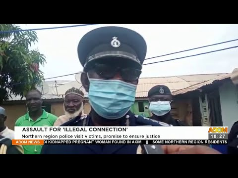 Assault for 'Illegal Connection' – Adom TV News (22-9-21)