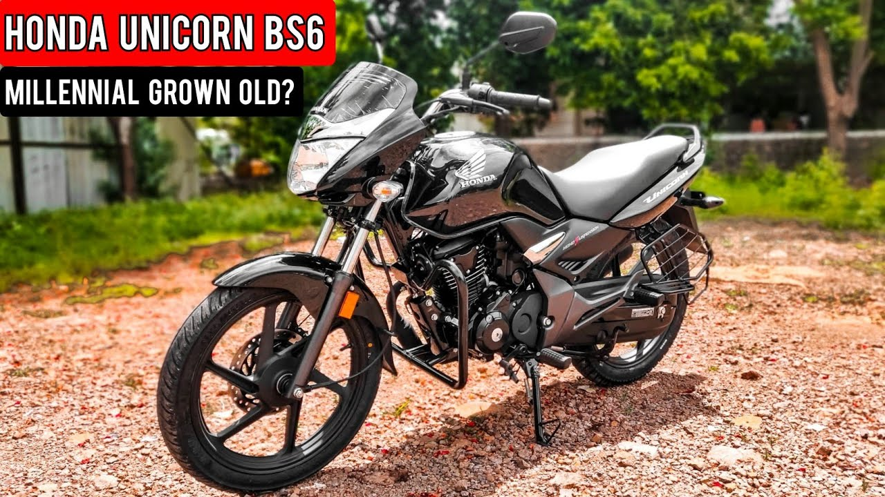 2020 Honda Unicorn BS6 - The Millennial Grown Old?