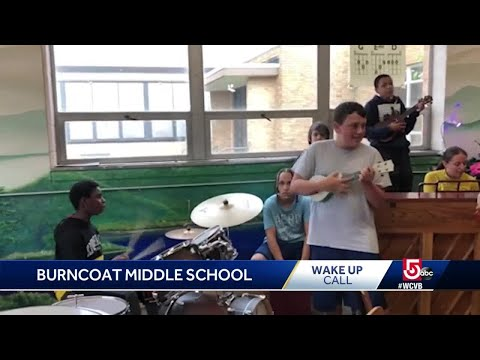 Wake Up Call from Burncoat Middle School