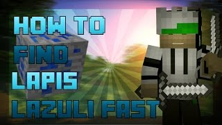 minecraft pe seed how to find lapis lazuli fast