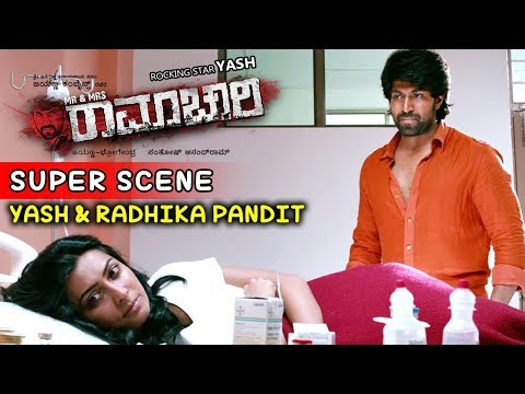 Yash Movies | Radhika Tries To Commit Suicide Kannada Scenes | Mr And Mrs Ramachari Kannada Movie