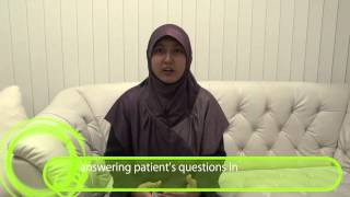 Scoliosis treatment testimonial from Dr Hafshah MD Eng Audio Eng Sub