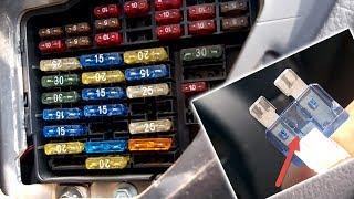 Схема предохранителей Ауди А6 С5, расположение блока и расшифровка
