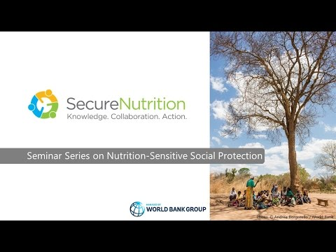 How do Social Protection Programs Address Nutrition Behavior Change?