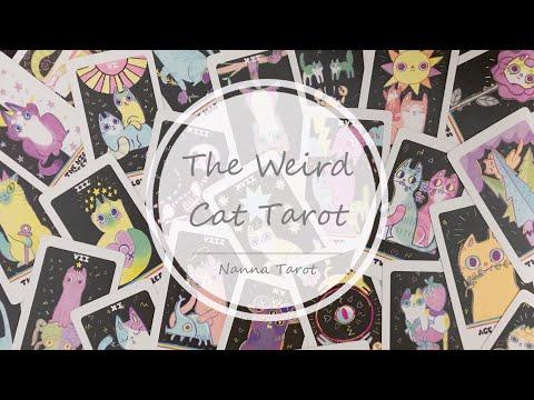 開箱  怪奇喵喵塔羅牌 • The Weird Cat Tarot  // Nanna Tarot