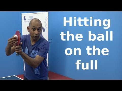 Hitting The Ball Before It Bounces | Table Tennis | PingSkills