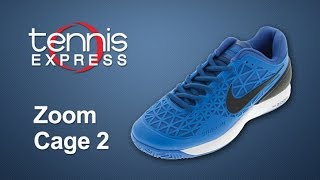 Nike Zoom Cage 2 Shoe Review | Tennis Express