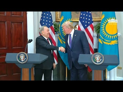 WATCH: President Trump Holds a Joint Press Conference with President Nazarbayev of Kazakhstan