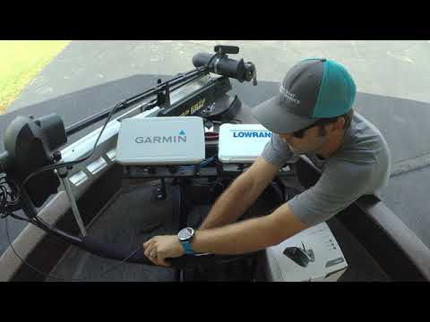Video of the Lowrance LiveSight Transducer Box/Install