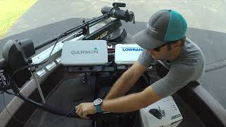Lowrance LiveSight! Whats in the box and how to install  *BBE*