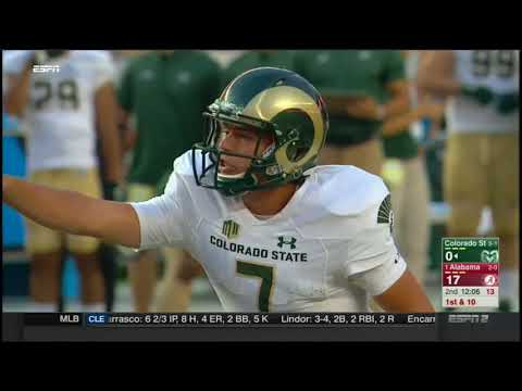 2017 - Colorado State Rams at Alabama Crimson Tide in 30 Minutes
