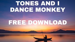 TONES AND I DANCE MONKEY | NO COPYRIGHT MUSIC | FREE DOWNLOAD