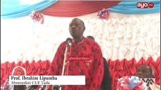 Profesa Lipumba amesema pamoja na matusi, hakuna wa kumzidi