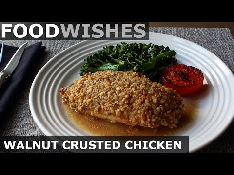 Walnut Crusted Chicken Breast Food Wishes