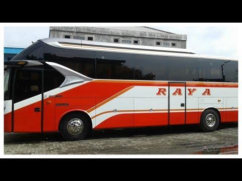 Interior Po Raya Super Top Sr 2 Hd Prime Review Bus Keren Youtube