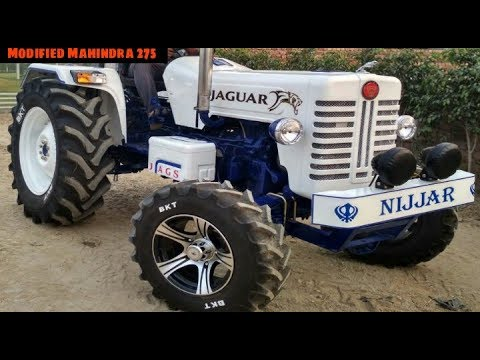 Modified Mahindra DI 275 Tractor look like Luxury Jaguar Cars l New White Colour ।