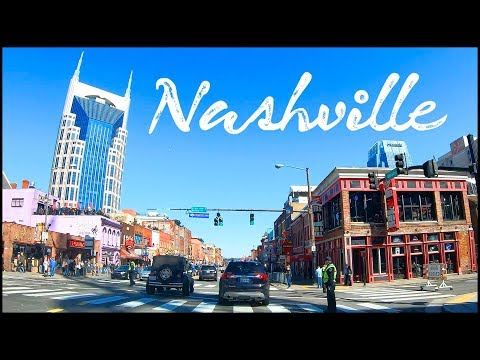 COUNTRY MUSIC Capital BROADWAY In Nashville Tennessee!