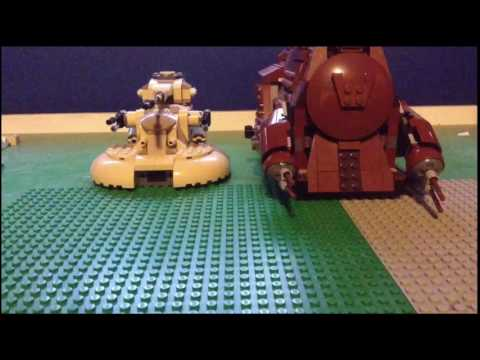 Lego StarWars Clone Base Defense(stopmotion)