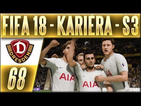 FIFA 18 Kariéra - Drážďany | #68 | Evropská Liga - Tottenham (S3) | CZ Let's Play