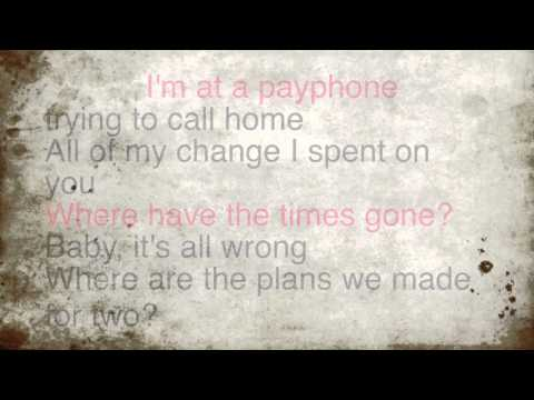 Payphone - Crown The Empire Lyric Video