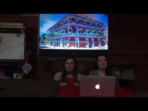 Mr.G weather project Alexa McAdam and Savannah Feinberg