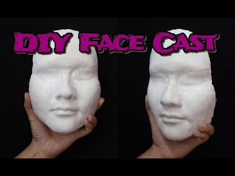 DIY Face Cast [BAHASA] // Cara Membuat Face Cast untuk SFX Makeup Utility // Dian Dananjaya