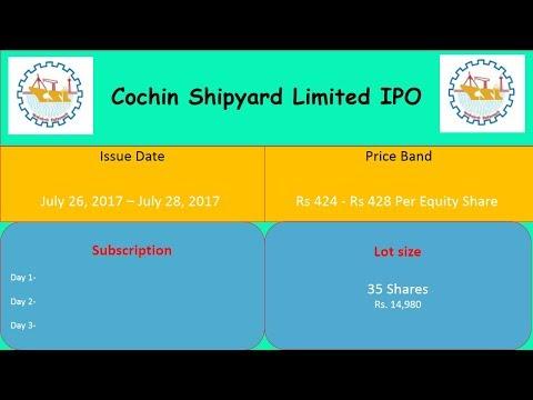 Cochin Shipyard Limited IPO Detail