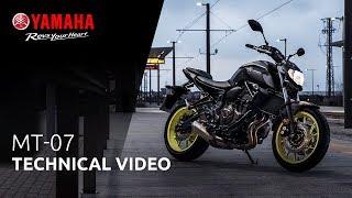 2018 Yamaha MT-07 | Technical video