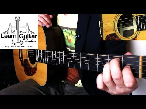 Unintended - Muse - Fingerstyle Guitar Tutorial - Grade 6 - Intermediate - Part 2