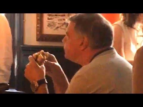 Sam Allardyce Eats Burger While Watching England Match Alone - Russia World Cup 2018