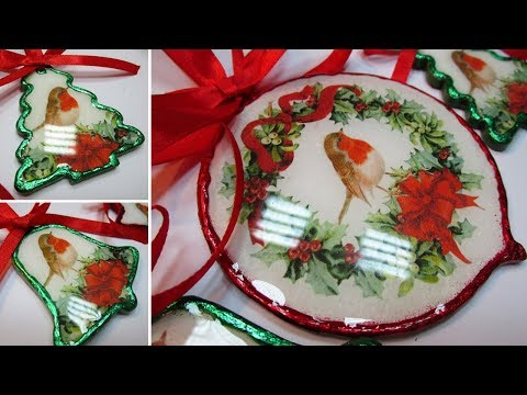 CHRISTMAS TREE ORNAMENTS IDEAS DIY