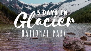 Glacier National Park Itinerary 3 Day (FAMILY FRIENDLY) // Adventure Travel Family