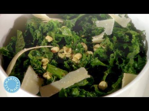 Lemony Kale Salad - Meatless Monday - Martha Stewart