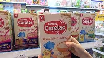 Bột ăn dặm Nestle Cerelac gạo và trái cây hỗn hợp 200g cho bé - Kids Plaza