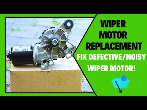How To Change Wiper Motor Chevrolet Cruze