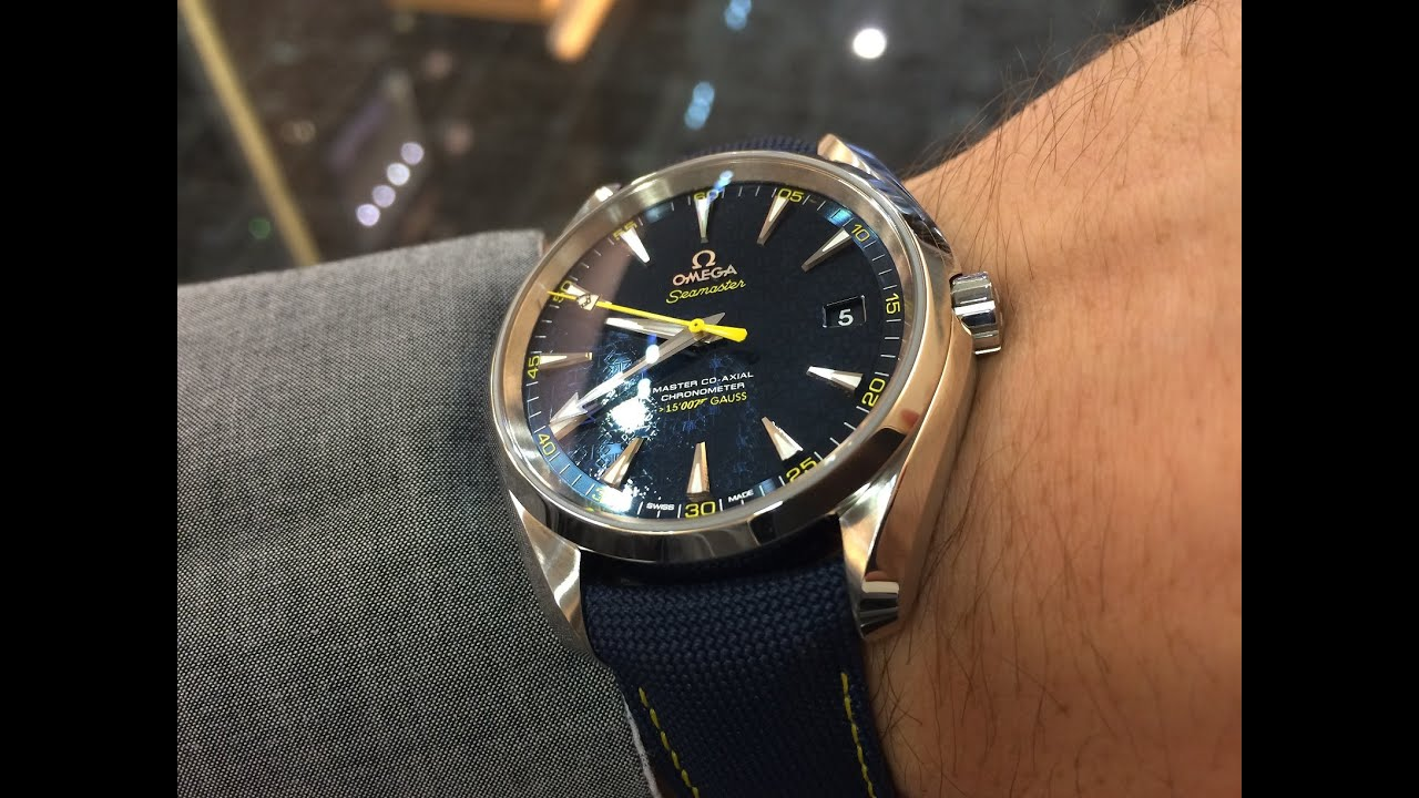 Omega James Bond Seamaster Aqua Terra Limited Edition 15
