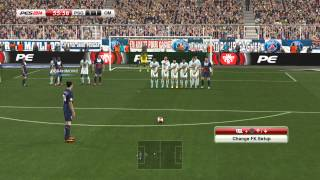 PES 2014 - Paris Saint Germain (PSG) vs Olympique de Marseille Gameplay PC