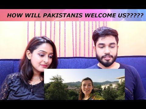 Indians react to EVA ZU BECK How Pakistanis welcome tourists
