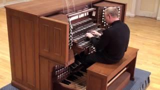 "Brink Bush performs ""Little Fugue in G minor"" BWV 578 - J.S. Bach"