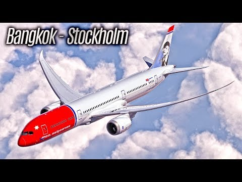 Bangkok to Stockholm (BKK - ARN) - From Bangkok to Stockholm with Norwegian Air Shuttle (NAS)
